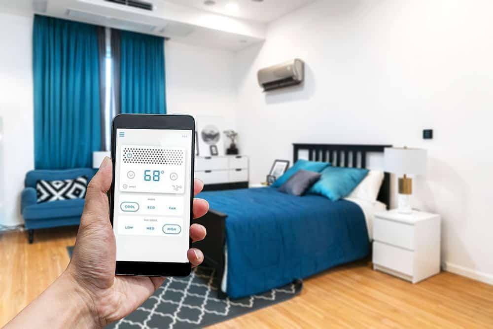 Smart window air conditioner