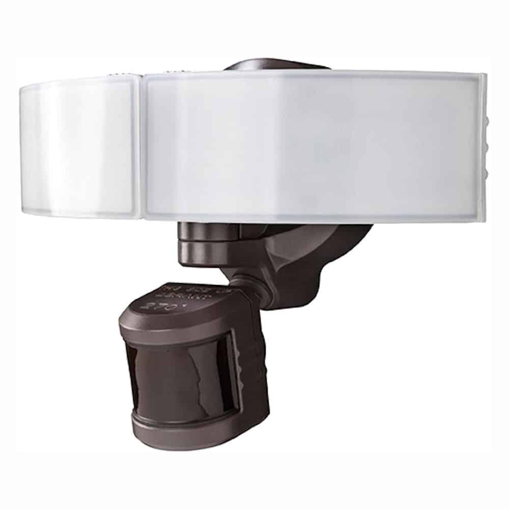 LED Bluetooth Motion Outdoor Security Light - Bronze